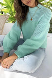 Luluautumn Pure Color Sweet Vitality Sweater