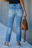 Luluautumn Ripped Washed Jeans