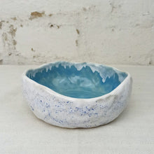 Load image into Gallery viewer, blue ceramic handmade bowls