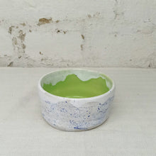 Load image into Gallery viewer, meteorite bowl handmade green