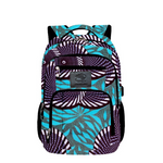 Multi colors Ankara backpacks