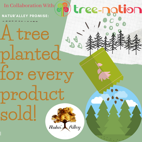 Natur'Alley Partners with Tree-Nation in its effort to promote a Greener Planet!