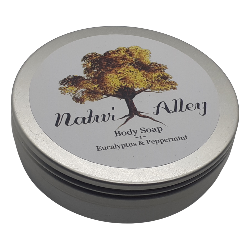 Natur'Alley Body Soap - Eucalyptus & Peppermint