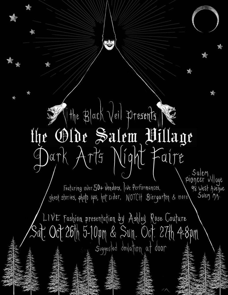 THE OLDE SALEM VILLAGE - DARK ARTS NIGHT FAIRE
