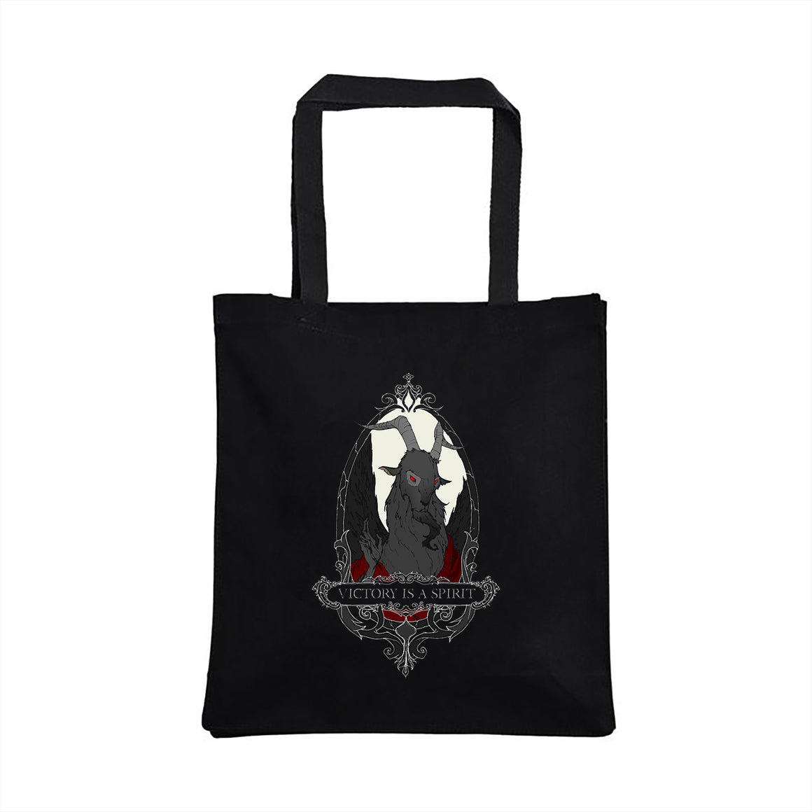 Baphomet tote designed by Abigail Larson.