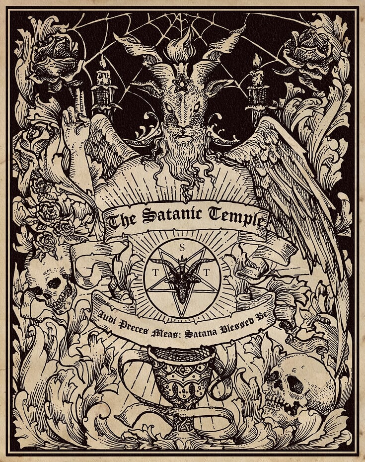 "The Satanic Temple Official 11"" x 14"" Posters"