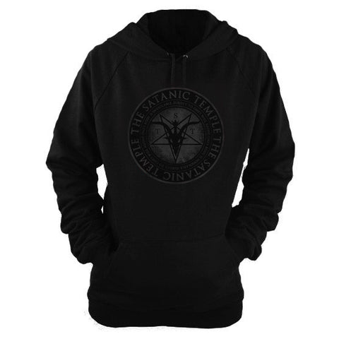 "TST Religious Reproductive Rights Tenet Hoodie ""One's body is inviolable, subject to one's own will alone"""