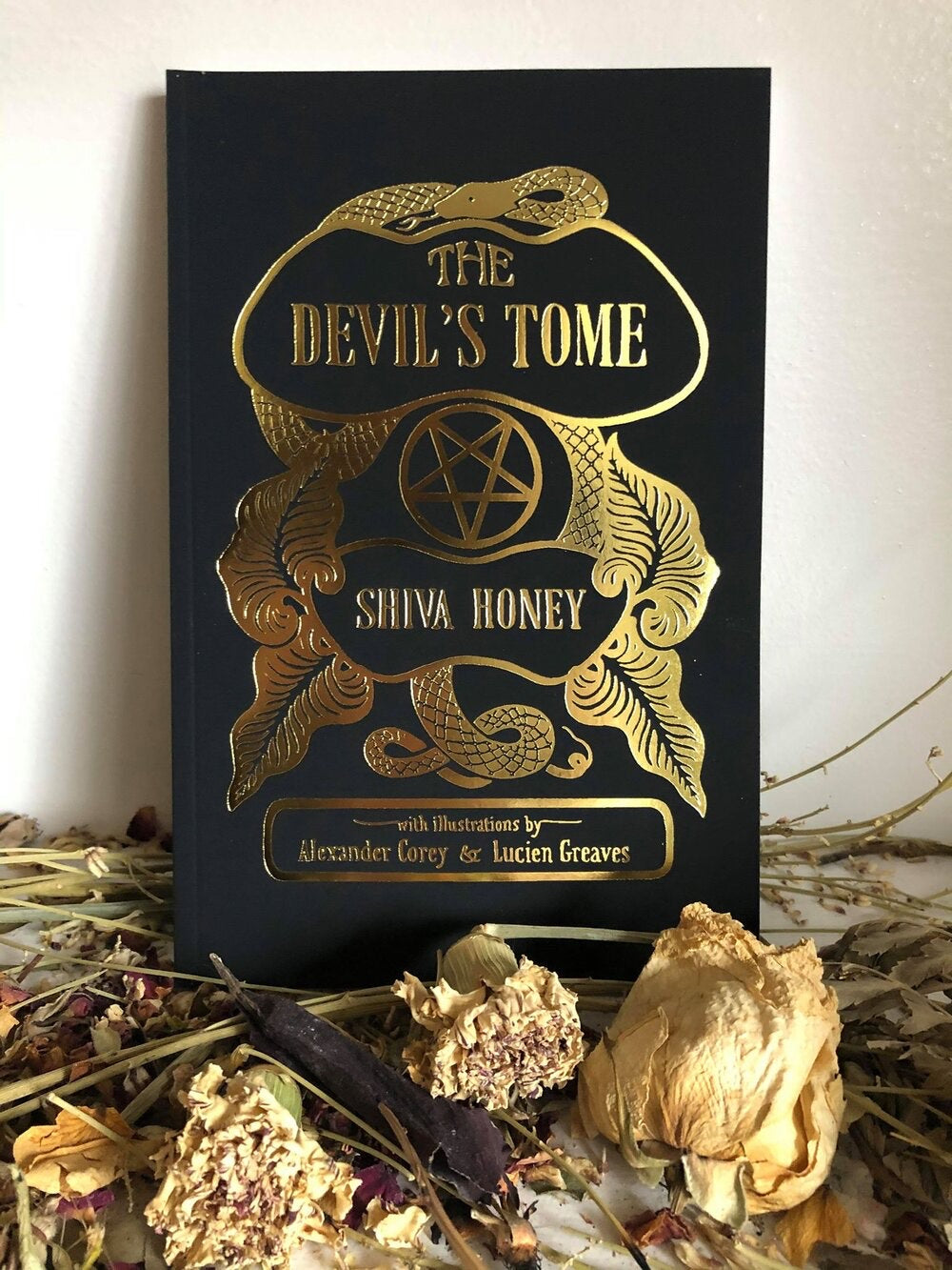 The Devil's Tome: A Book of Modern Satanic Ritual by Shiva Honey, Signed First Edition Book