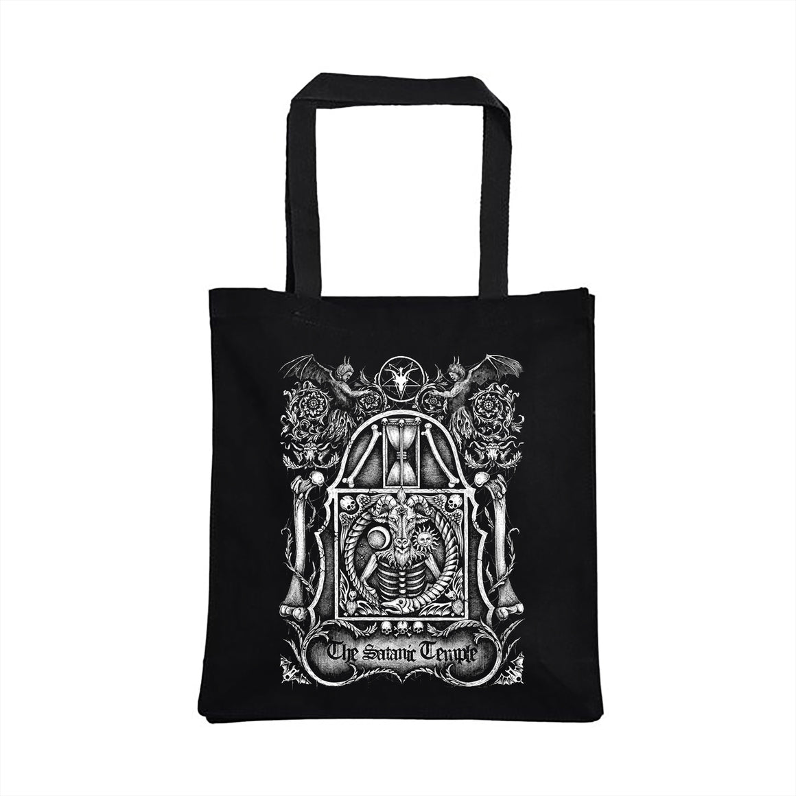 TST Headstone Tote Bag design by Luciana Nedelea
