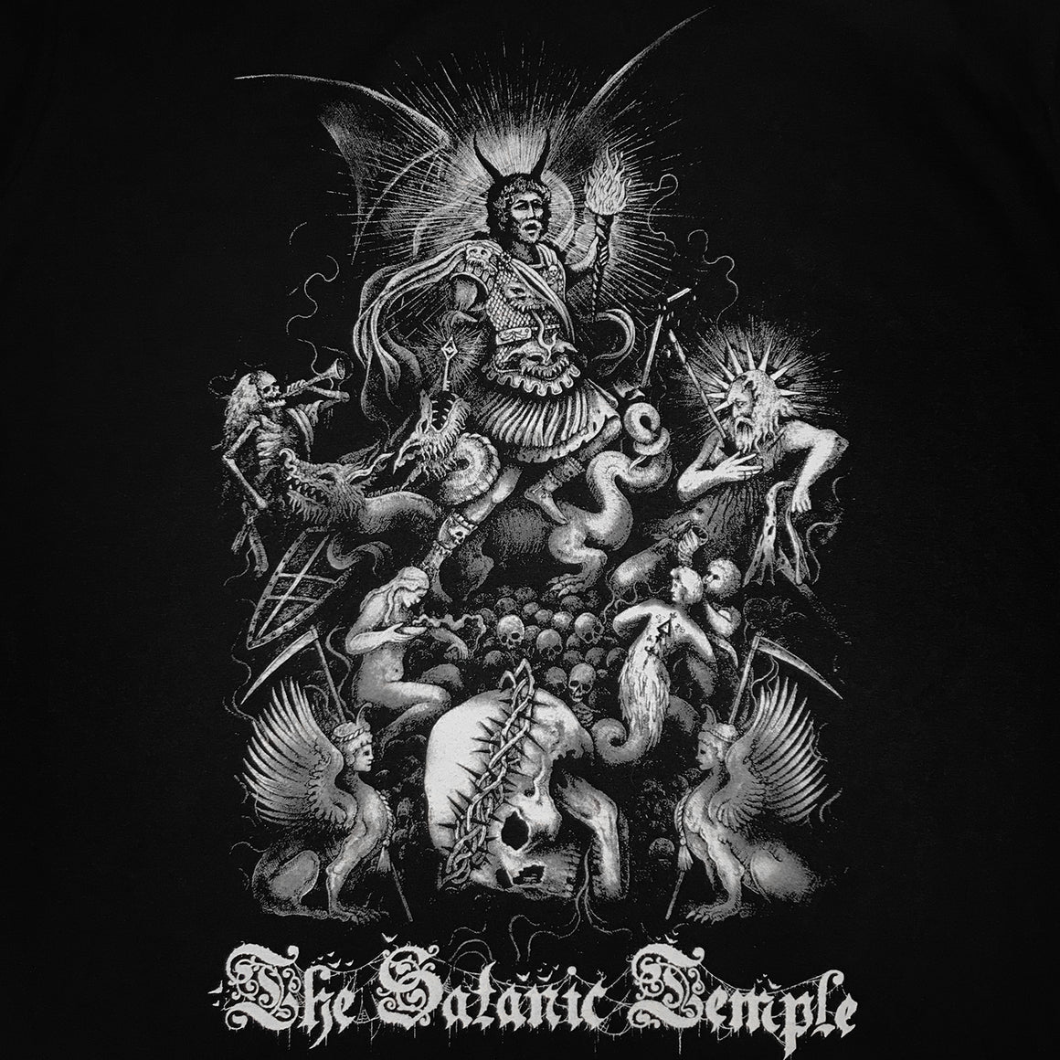 The Satanic Temple Paradise Lost shirt designed by Luciana Nedelea