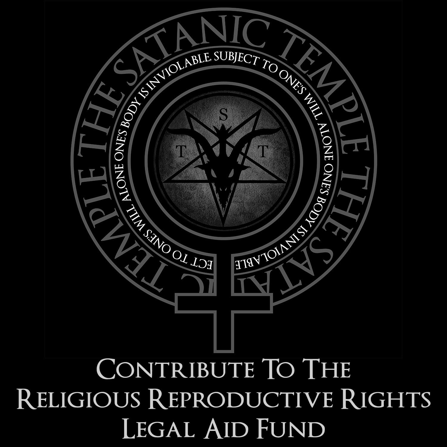 The satanic temple shop contribute to the religious reproductive rights legal aid fund biocorpaavc