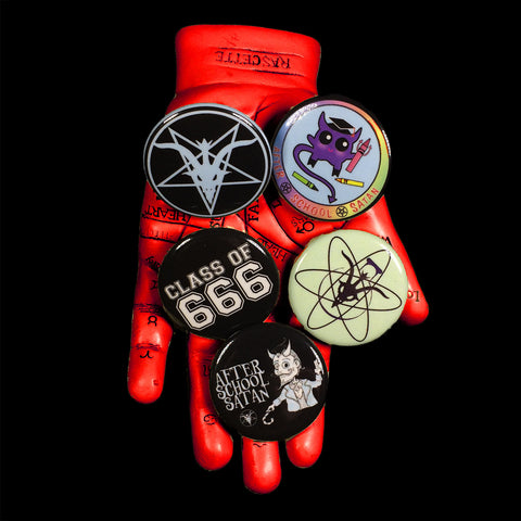TST Button Pack #3 After School Satan Pack