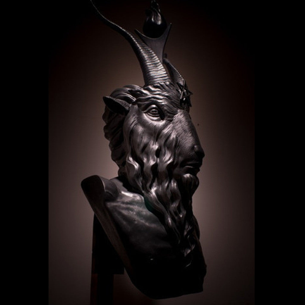 Bust of Baphomet (in Bronze)