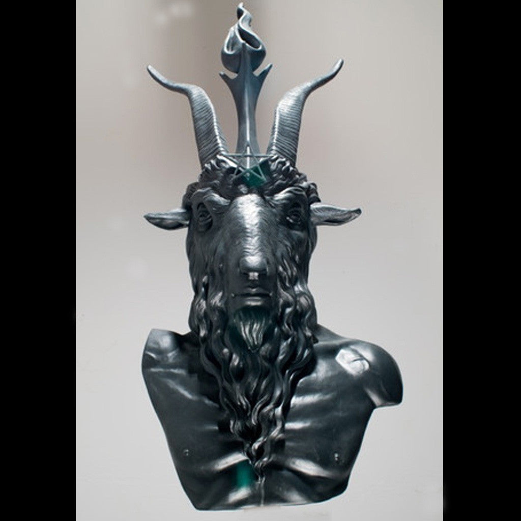 Bust of Baphomet (in Aluminium)