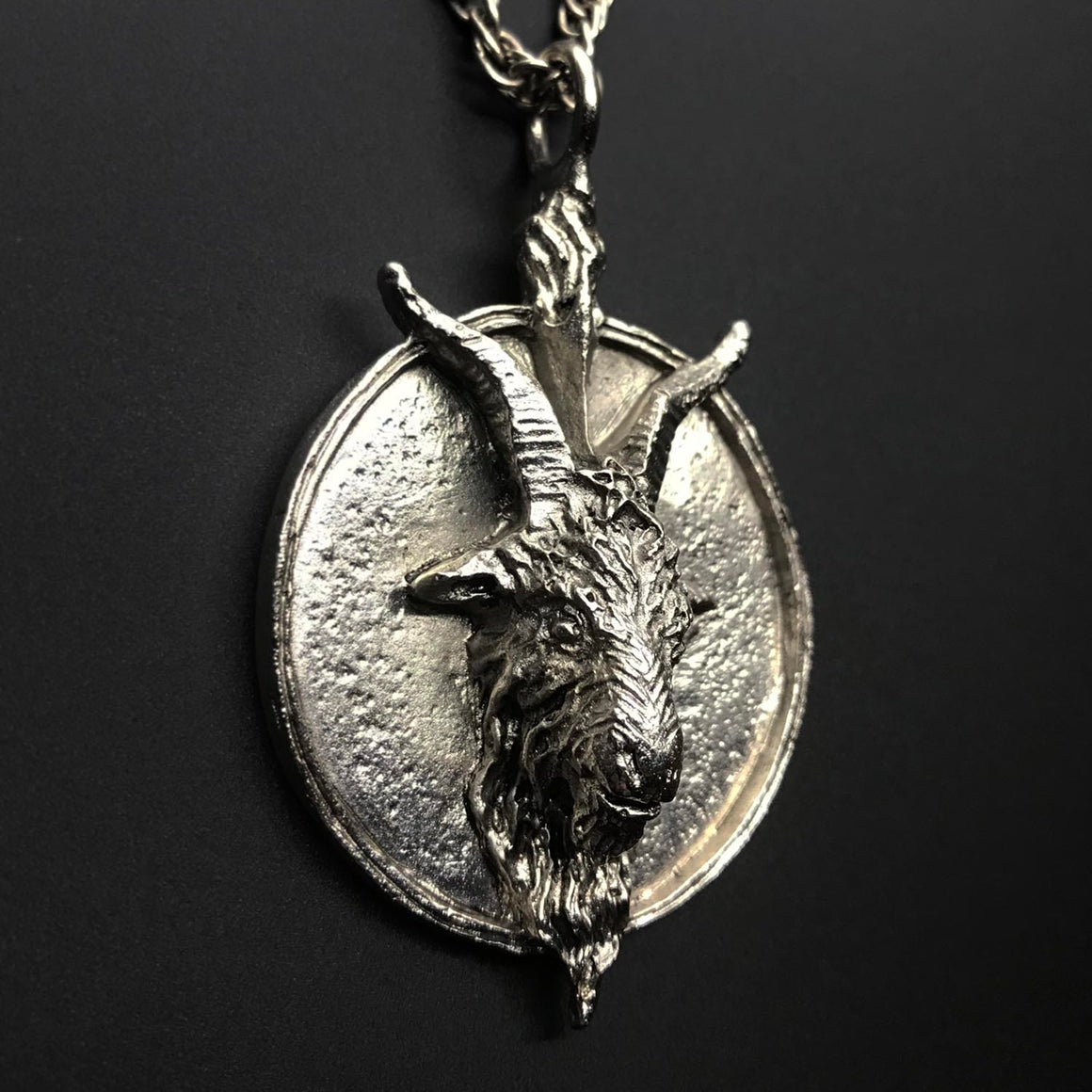 TST Baphomet Pendant Designed by Dellamorte & Co.