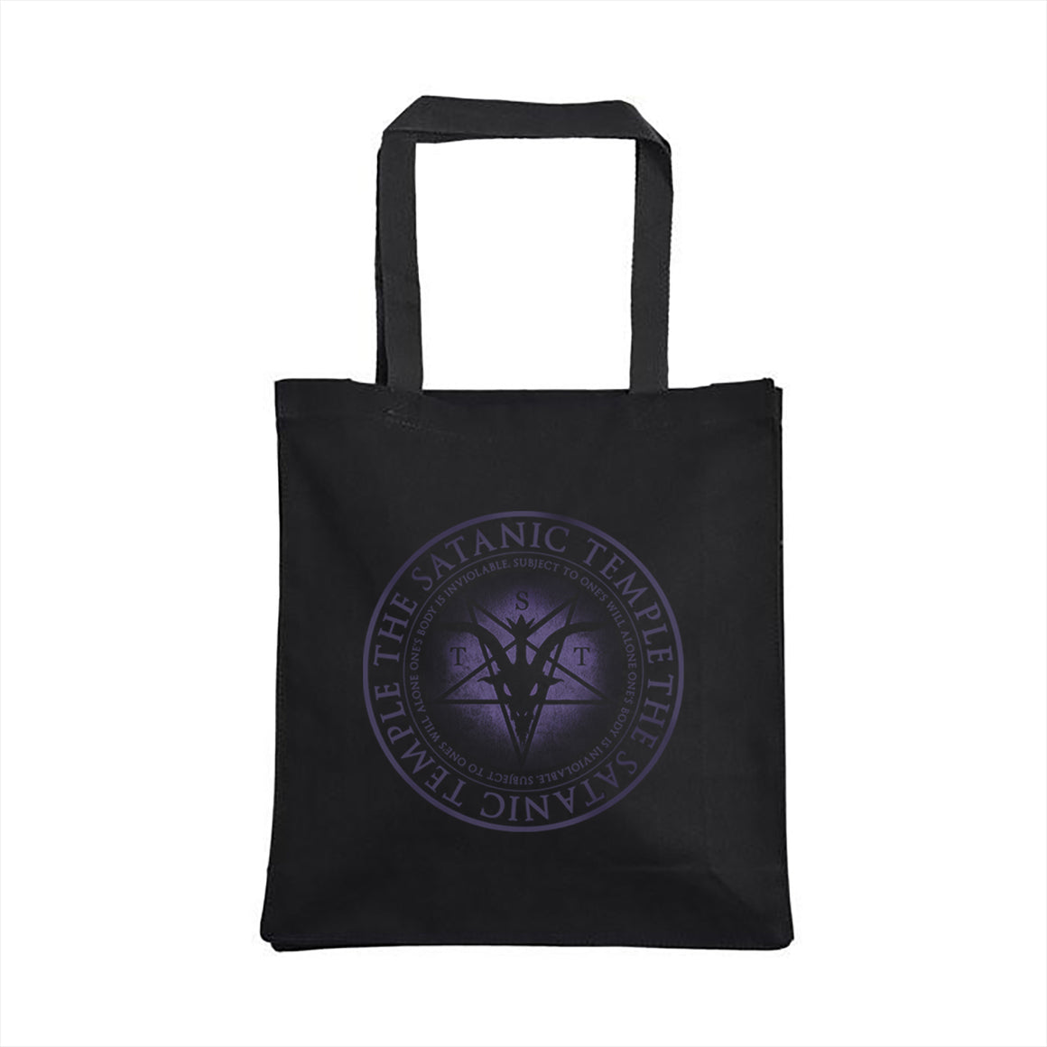 Religious Reproductive Rights Purple Tote Bag