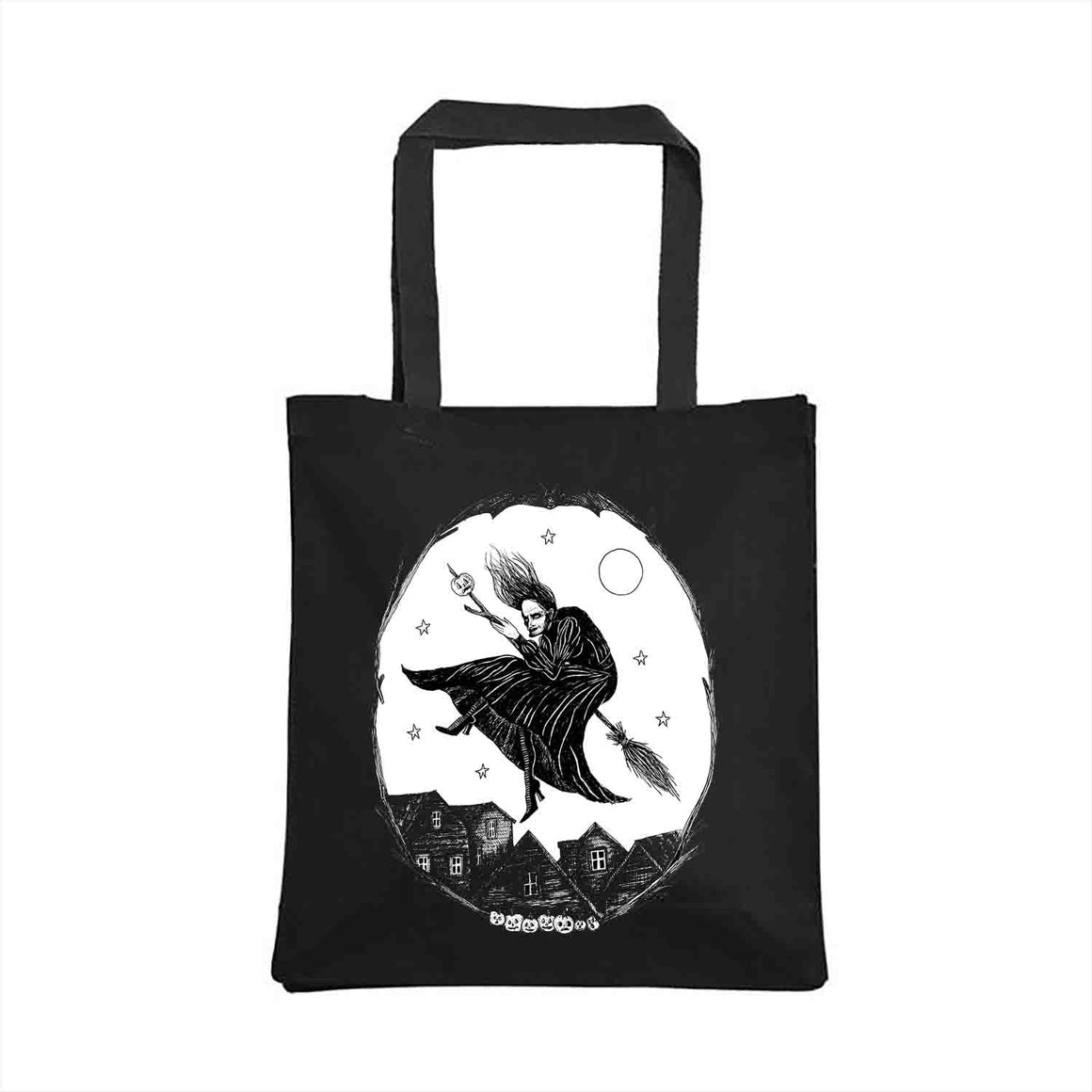 Witch Tote Bag design by Bill Crisafi