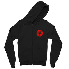 The Satanic Temple Zip up Hoodie two sided print