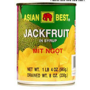 Asian Best Jackfruit in Syrup 20 oz