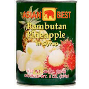 Asian Best Rambutan with Pineapple 20 oz