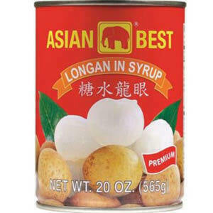 Asian Best Longan in Syrup 20 oz