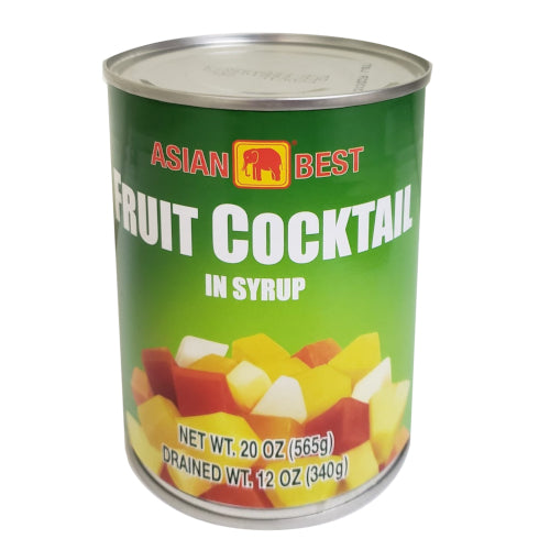 Asian Best Fruit Cocktail in Syrup 20 oz