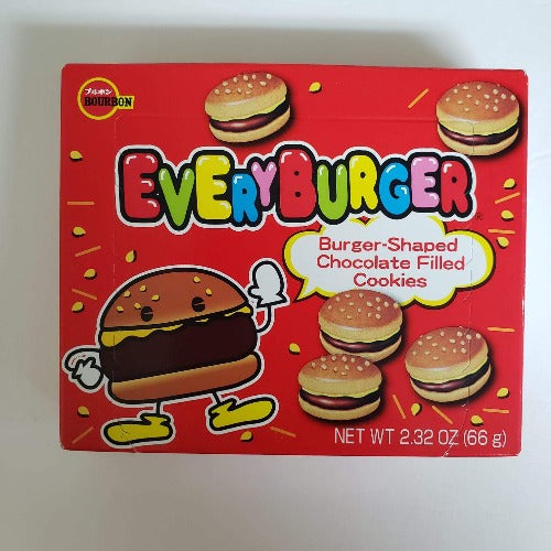 Bourbon Every Burger  (Chocolate Filled Cookies) 2.32 Oz (66 g)