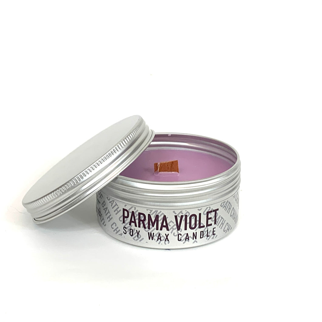 Parma Violet Soy Wax Candle