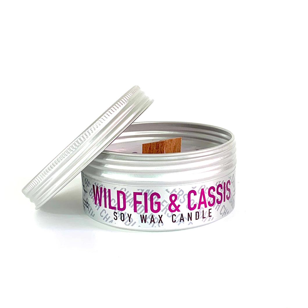 Wild Fig & Cassis Soy Wax Candle