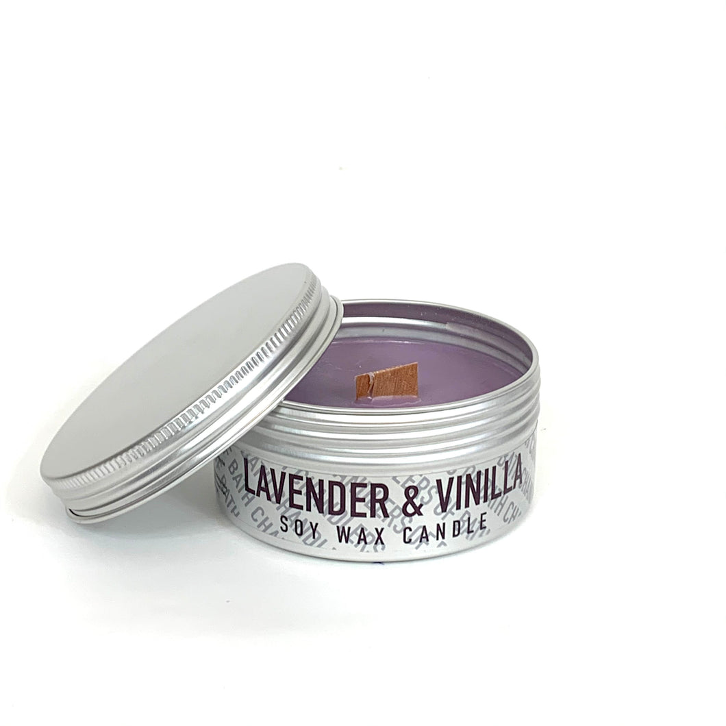 Lavender & Vanilla Soy Wax Candle