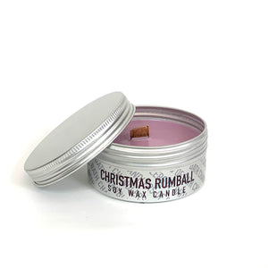 Christmas Rumball Soy Wax Candle