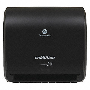 "enMotion 59488a  10"" Automated Touchless towel dispenser by Georgia Pacific, black"