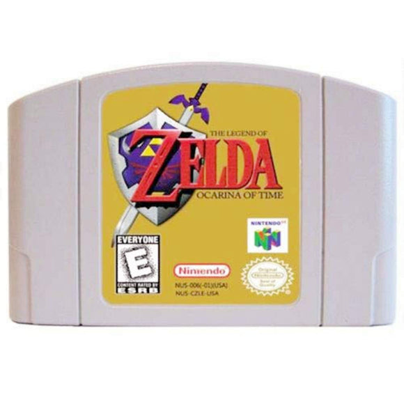 Mario The Legend of Zelda Ocarina of Time Video Games Cartridge US Version For Nintendo N64