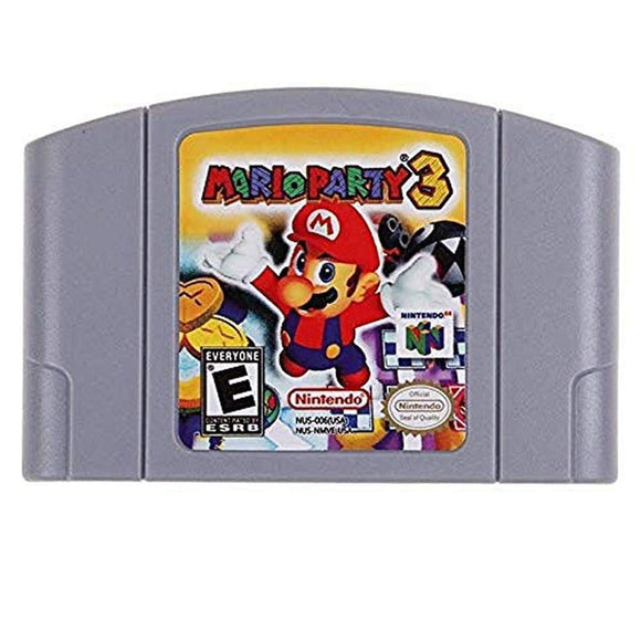 Exclusive Listing Games Mario Party 3 (packaging may vary)