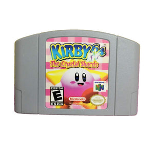 Mario Kirby 64 The Crystal Shards Video Game Cartridge US Version For Nintendo 64 N64
