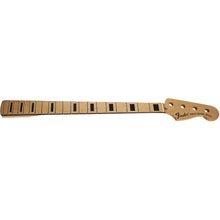 Load image into Gallery viewer, Genuine Fender Classic Series 70's Precision Bass Neck, Block Inlay, Maple