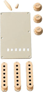 Genuine Fender Aged White Accessory Kit for Stratocaster 099-1368-000