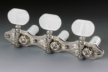 Load image into Gallery viewer, Genuine Schaller Germany Classical Guitar Hauser Tuners 3x3 Nickel with Pearloid Buttons