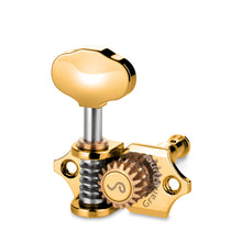 Load image into Gallery viewer, Genuine Schaller Germany Grand Tune Tuners, 3x3 Gold, Butterbean 10510523