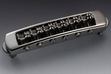 Load image into Gallery viewer, Genuine Schaller Germany STM Roller Tunematic Bridge, Ruthenium 12080600