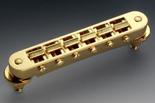 Load image into Gallery viewer, Schaller Germany GTM Tune-o-Matic Bridge, Gold 12090500