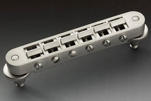 Load image into Gallery viewer, Schaller Germany GTM Tune-o-Matic Bridge, Satin Pearl 12090700