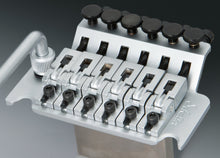 Load image into Gallery viewer, Schaller Germany Lockmeister Floyd Rose Tremolo Bridge, 37mm R2 Nut Satin Chrome