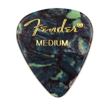 Load image into Gallery viewer, Genuine Fender® 351 Premium Picks, 12 pack, Ocean Turquoise Medium 198-0351-808