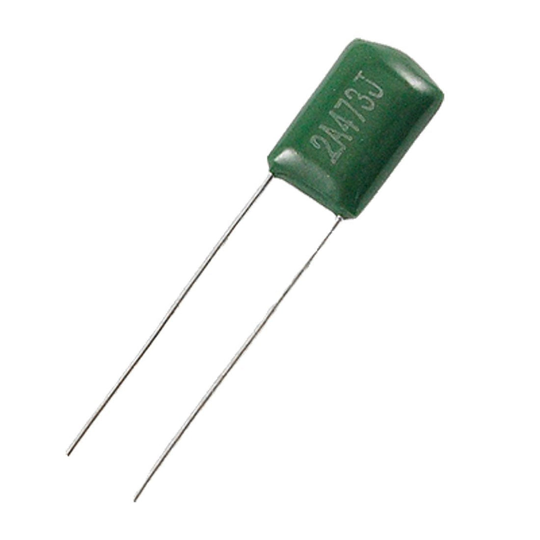 Guitar Poly Film Radial Lead Guitar Tone Capacitors, 0.047uF  for single coil, 3 pack