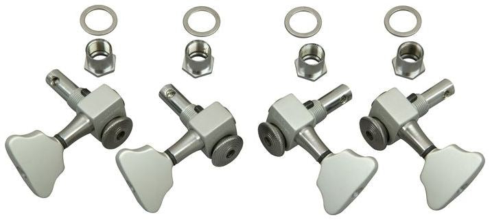 Sperzel Trim-Lok 2x2 Satin Chrome Bass locking tuner