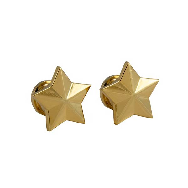 Genuine Grover Artist Strap Buttons (2) Star, Gold GP630G