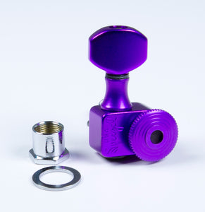 Sperzel Trim-Lok 6 in line staggered post purple locking tuner