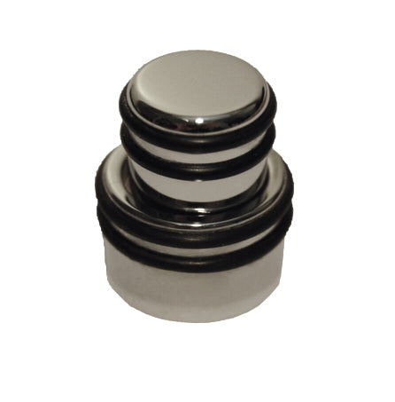 Hipshot O Ring Guitar or Bass Stacked Control Knob, Polished Chrome
