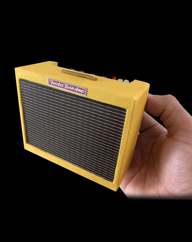 Axe Heaven Fender 1959 Tweed Twin Scale Miniature Collectible Amp - FTW-AMP-1